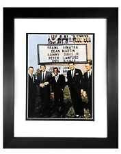 Rat Pack -  003  8X10  PHOTO FRAMED TO11X14