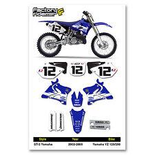 2002-2005 YAMAHA YZ 125 250 GYTR Graphics Kit Motocross Graphics Enjoy