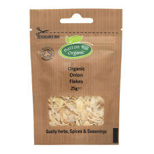 Pack of 6 - Organic Onion Flakes 25g Certified Organic