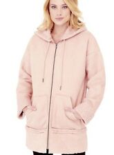 BNWT Genuine Guess Womens pink hooded coat Size M or Size 12-14
