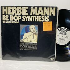 Herbie Mann Be Bop Synthesis- Savoy Sessions Promo Jazz LP- VG++/VG