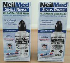 NeilMed Sinus Rinse Starter Kit Natural Sinus Relief Clear Sinusitis Congestion