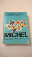 Michel Europa Katalog West 1992/93 M-Z
