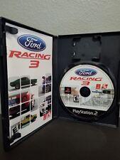 Ford Carreras 3 Sony Playstation 2 PS2 Completo Original Funda y Manual P34