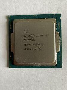 Intel Core i7 6700K 4.0 GHz Socket LGA 1151