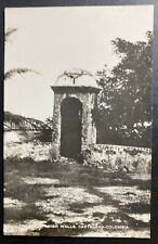 Mint Colombia RPPC Real Picture Postcard Ancient Spanish Walls Cartagena