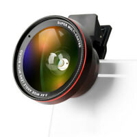 Zomei Macro Mobile Phone Lens 2in1 Universal 37mm 0.6X Wide Angle Lens with Clip