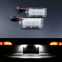 2 ECLAIRAGE PLAQUE LED FORD FOCUS 2007-2013 1.8 2.0 TDCI 2.5 ST FEUX BLANC XENON