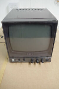 """Sony pvm-91ce Studio medical B&W Black and White 9"""" MONITOR  PLEASE READ"""
