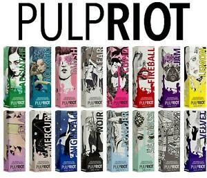 PULP RIOT Semi Permanent Hair Dye ALL COLOURS - *CHOOSE BUNDLE* Fastest Shipping
