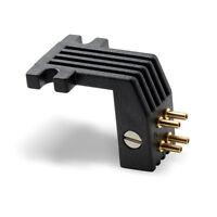 Ortofon T4P-Adapter P-mount auf Halb-Zoll (OZZT4P) schwarz NEU!