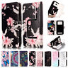 Universal Leather Flip Card Wallet Stand Cover Case For Various Model SmartPhone