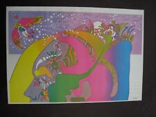 VINTAGE PETER MAX GRAPHIC ART POSTER PRINT ~ INSTANT NUTRAMENT NUMBER 2