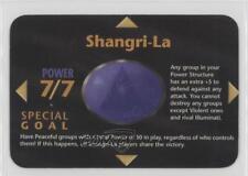 1996 Illuminati: New World Order Limited #NoN Shangri-La Gaming Card 2k3