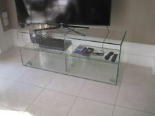 Glass without Assembly Required Media Console Tables Stands