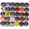 FUNNY SLOGAN BADGES Lot x 30 Buttons Pins Wholesale One Inch 1""