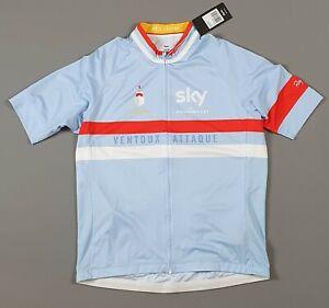 Rapha Mens Ventoux Attaque Cycling Jersey (Light Blue) Sky Size 2XL XXL NEW