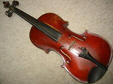 """nice old Stainer 4/4 Violin violon Steiner branding, flamed back """"Caspari"""" Pegs"""
