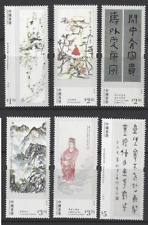 China Hong Kong 2017 饶宗颐 Paintings Calligraphy of Professor JAO Tsung-i Stamp