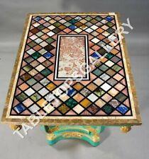 4'x3' Marble Dining Table Top Multi Inlay Random Art Living Room Home Deco E621A
