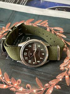 1967 Seiko 6619-8060 MAC-V SOG MIL US Issue men's watch, Vietnam war survival
