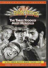 The Three Stooges Meet Hercules (DVD, 1961 Release) full-length Feature film!