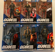 Lot Of 6 G I Joe Classified 6? Action Figures Red Ninja Destro Snake Eyes & More