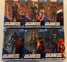Lot Of 6 G I Joe Classified 6? Action Figures Red Ninja Destro Snake Eyes & More