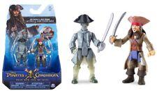 Piratas Del Caribe Jack Sparrow vs. fantasma en 2 Paquete de Figuras Conjunto De Disney