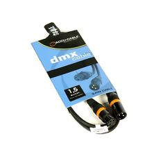XLR 3 Pol Cavo DMX, digitale AES-EBU 110 Ohm, 1,5m lunghezza