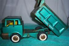 "Structo Dumper Dump Truck 1960's Pressed Steel Keep as is or Restore 12 "" Long"