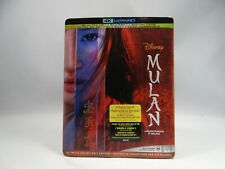 Mulan (4K UHD, Blu-ray, 2020)  *READ DESCRIPTION*