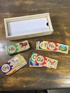 Melissa & Doug Self-Correcting Alphabet Letter Puzzles (Developmental Toys)