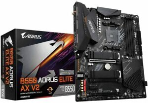 Gigabyte B550 AORUS ELITE AX V2 (Socket AM4/B550/DDR4/S-ATA 600/ATX/WiFi 6)