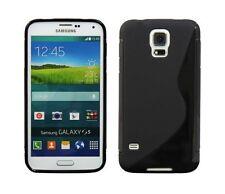 Étuis, housses et coques Samsung Galaxy S5 en silicone, caoutchouc, gel pour téléphone mobile et assistant personnel (PDA) Samsung
