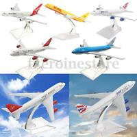 16CM Metal Plane Model Aircraft Diecast Airplane Aeroplane 1:400 Scale Desk Toy