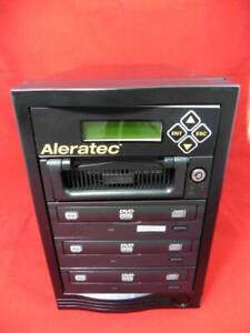 Aleratec 1:3 DVD CD Copy Tower PRO HS DVD CD Duplicator Fast Recording Speed
