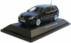 Opel Vectra Estate OPC - Black, 1:43 Scale, VAUXHALL, Schuco, Dealer Mo