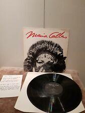 MARIA CALLAS LP PRIVATE RECORDING JLT 1