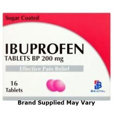 Ibuprofen 200mg Tablets Pain Relief Tablets | Pack of 16 | MAX 2 Packs/Order