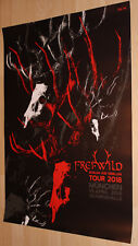 Freiwild Tourplakat/Tourposter 2018 -  NEU - München