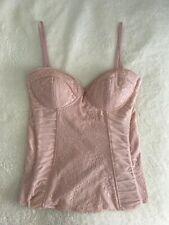 Corset corse rosa lencero top mujer Bershka nuevo talla S zara