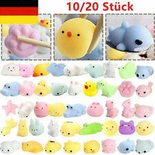 10/20x Mochi SQUISHY Soft Mini Cat Kawaii Animal Squishies Toy für Stressabbau