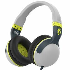 Skullcandy Hesh 2 Over-Ear Surround Kopfhörer Grau-Hot Lime Surround Kopfhörer