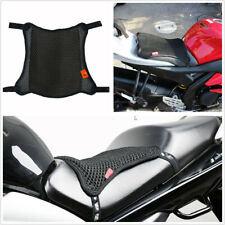 Motorcycle 2-Layer Seat Cover Sunscreen Cool Cushion Breathable 3D Mesh Non-Slip