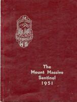 1951 Leadville, Colorado High School Yearbook - Nice Condition