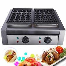 New listing 50 Holes Commercial Takoyaki Maker Octopus Fish Ball Cake Machine 110V