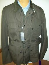 Ralph Lauren Purple Label Cotton Blend Field Jacket  NWT Medium $3995 Dark Olive