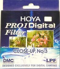 Genuine Hoya Pro1 DMC Digital 72mm Close Up +3 (Macro) Lens In UK!