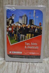 LG CHOCOLATE TIPS HINTS AND SHORTCUTS BOOK MANUAL VERIZON WIRELESS NEW (Bin1)